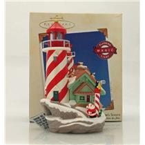 Hallmark Magic Series Ornament 2003 Lighthouse Greetings #7 - #QX7409-DB