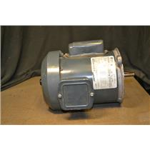 1/2HP, 115/208-230V, 1725/1425 RPM, FR56NY, GE Electric Motor 5KC46JN0076AU