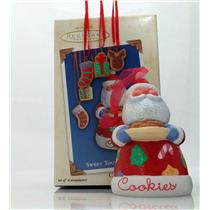 Hallmark Series Ornament  2003 Sweet Tooth Treats #2 - Santa Claus - #QX8199