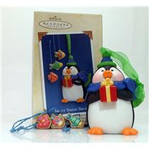Hallmark Series Ornament 2005 Sweet Tooth Treats #4 - Penguin - #QX2175
