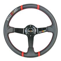350mm Deep Dish Racing Steering Wheel Can Fit MOMO SPARCO OMP RALLIART Boss Kit