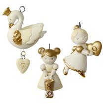 Hallmark Miniature Ornaments 2016 Days 7-9 - 12 Little Days of Christmas QRP5934