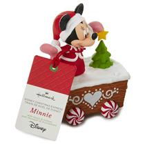 Hallmark Wireless Decoration 2016 Minnie Mouse Disney Christmas Express #XKT2133