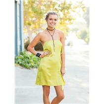 4 NWT BCBGeneration Side Ruffle Mini Strapless Dress Glow Exposed Back Zipper