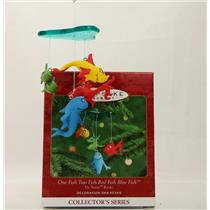 Hallmark Ornament 2000 Dr Seuss Books #2 - One Fish Two Fish - #QX6781
