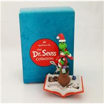 Hallmark Dr Seuss Collection 2001 A Grinchy Disguise Porcelain Figurine #QSU2054