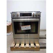 "BOSCH 800 30"" Slide-in Gas Range Stainless HGI8054UC Descriptive Detailed Images"