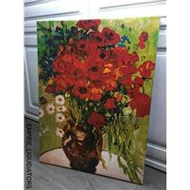 "18"" X 24"" Flowers in a Vase - canvas wrapped - Roses"