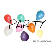 Balloons - 3 PACKS OF 500 Multicolor Balloons - Party Supplies (1500 TOTAL) -A