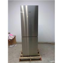 "BOSCH 800 B10CB80NVS 24"" 10.0 cu.ft. Counter-Depth Refrigerator Stainless Detail"