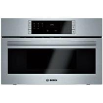 """BOSCH 500 Series 30"""" 1.6 cu. ft. Capacity Built-In Microwave Oven SS HMB50152UC"""