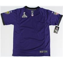 Nike NFL Super Bowl XLVII Game Purple Youth Jersey