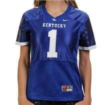 Nike Kentucky Wildcats #1 Women's Replica Football Jersey - Royal Blue