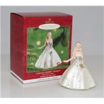 Hallmark Keepsake Series Ornament 2001 Celebration Barbie #2 - #QXI5202
