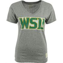 NCAA Wright State Raiders WSU Gray Women's V-Neck