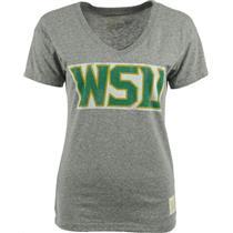 NCAA Wright State Raiders WSU Gray Women's V-Neck