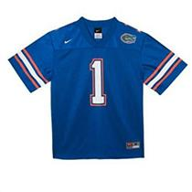 Nike NCAA Florida Gators #1 Blue Youth Replica Jersey