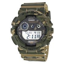 Casio GD120CM-5CR Camouflage G-Shock Watch. New in Box w/ Instructions&Warranty