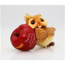 Hallmark Keepsake Ornament 2005 For You Teacher - Owl - #QXG4315-NOBOX