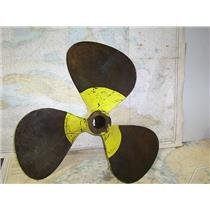 """Boaters' Resale Shop of TX 1611 2574.01 BRONZE 3 BLADE 28LH32 PROP FOR 2"""" SHAFT"""