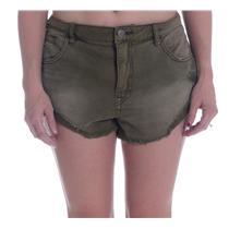 Sz 30 NEW Free People Women's Irreplaceable Denim Cutoff Shorts in Army Green