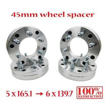 4 5x165.1 6.5 to 6x139.7 5.5 Wheel Spacer Adapter Land Rover Defender Discovery
