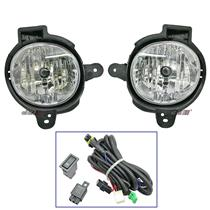 White Driving Fog Light Lamp Fits For Toyota Hilux Vigo CHAMP KUN25 KUN26 12-14