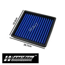 Works Engineering High Flow Engine Air Filter Kit For Civic EK EJ 1.6L D16Y D16Z
