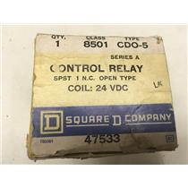 Square D 8501 CDO-5 Control Relay