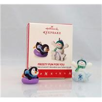 Hallmark Limited Miniature Ornament 2016 Frosty Fun For You - #VIP1601