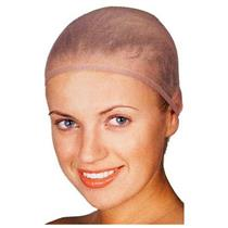 100% Polyester Tan Wig Cap 12 pack