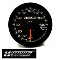 Works 60mm 270° Water Temperature Temp Electrical Pro Gauge Meter Race Drift
