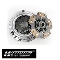 "Works 8"" PRO 450 Racing Clutch Fits Toyota Starlet EP82 EP91 4E-FTE Turbo"