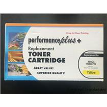 Performance Plus Xerox High Capacity Yellow Toner Cartridge Model 113R00725 -A
