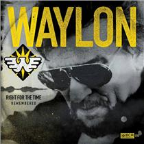 2 SEALED WAYLON JENNINGS - Right for The Time (remembered) Compact Discs -A