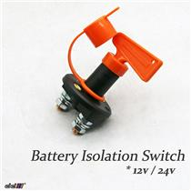 12v 24v Battery Isolator Kill Cut Switch Isolation Electric Winch 4WD Recovery