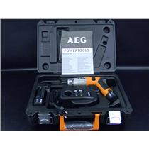 AEG Cordless Bendable Screwdriver 3.6 V, 1.5 Ah Li-ion + Spare Battery and Case