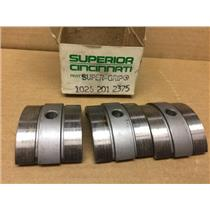 (Lot of 3) Superior Cincinnati Super-Grip Collet Pads 1026 201 2375