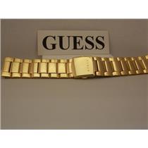 Guess Watch Bracelet G11638G Gold Tone 24mm Wide Original Watchband.