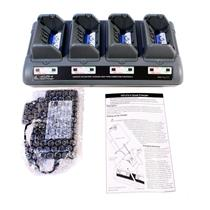 Zebra AT16305-4 UCLI72-4 Quad Charger QL420 QL320 QL220 RW420 QL & RW Printers