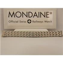 Mondaine Swiss Railways Watch Bracelet 14mm FM20514ST1 Curved End All Steel