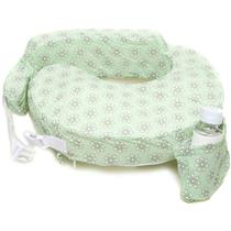 My Brest Friend Nursing Pillow - Sage Dotted Daisies - UNUSED / CLEAN