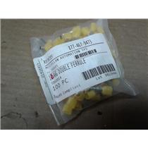 Ferrulesdirect TD60014 Twin Wire Ferrules 2X6.00Mm�� (2X10Awg)