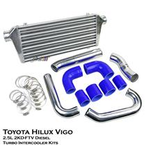 Turbo Intercooler Kit Fits Toyota Hilux Vigo KUN15 KUN25 05-11 2.5L 2KD Diesel