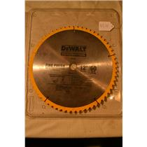 (1 New & 1 Used) Dewalt DW3126 12-Inch 60 Tooth ATB Thin Kerf Miter Saw Blade