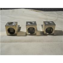 (Lot of 3) Mechanical Lugs 600MCM-4 A600 CU9AL