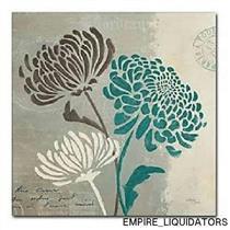 "Trademark Fine Art Chrysanthemums II by Wellington Studio 24"" x 24"" Frameless"