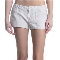 LN 5 Juniors KIRRA GIRL Tan/Khaki Rigid Cotton Twill Shorts Surf Wear Pac Sun