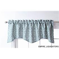 3 Stylemaster Twill and Birch Bryce Chenille Scalloped Valances with Cording 55