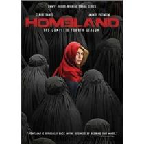 BRAND NEW - Homeland: The Complete Fourth Season [4 Discs] [DVD] 584 MINS/color